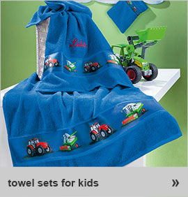 towel sets for kids